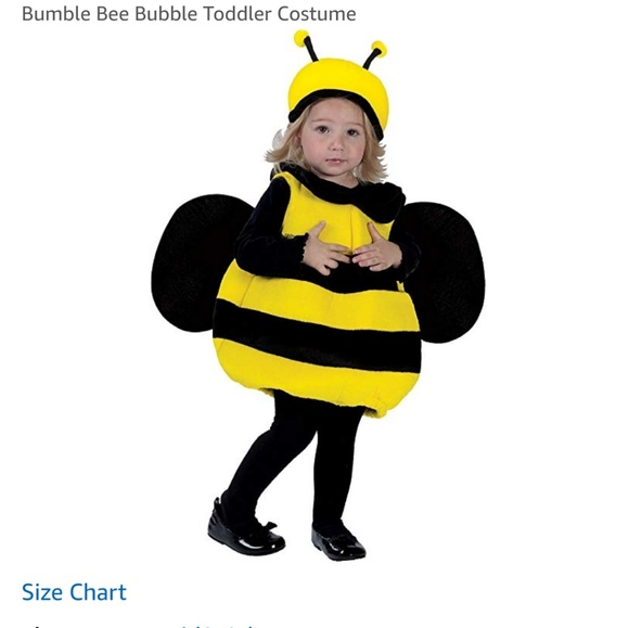 Brand New Bumble Bee Insect Infant//Toddler Costume